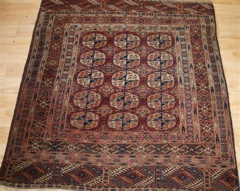 small square rugs antique tekke turkmen dowry rug small square size circa 1900 295287 sellingantiques co uk