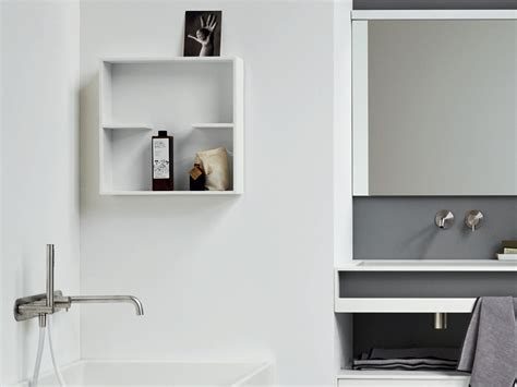 corian ablage unico corian 174 bathroom wall shelf unico collection by