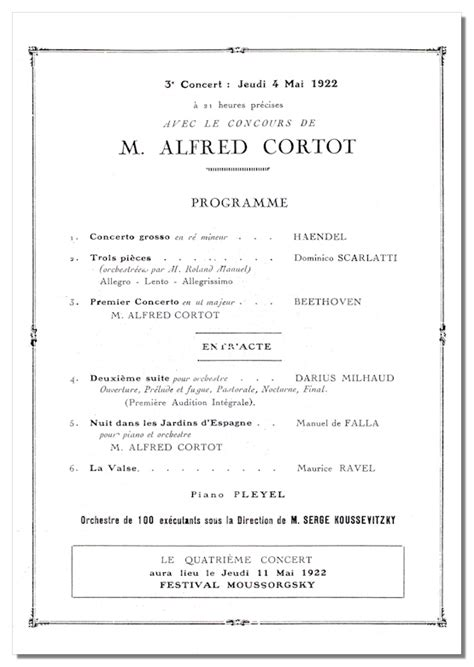 classical program template classical net koussevitzky concert programs th 233 226 tre