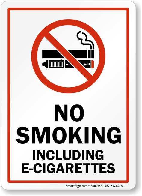 no smoking sign e cigarettes no smoking including e cigarettes sign with graphic sku