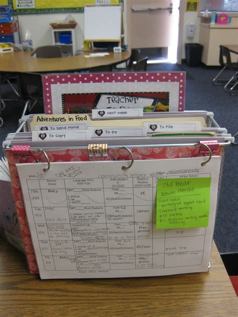 Tabletop Organizer Miss Kindergarten Classroom Desk Organization Ideas