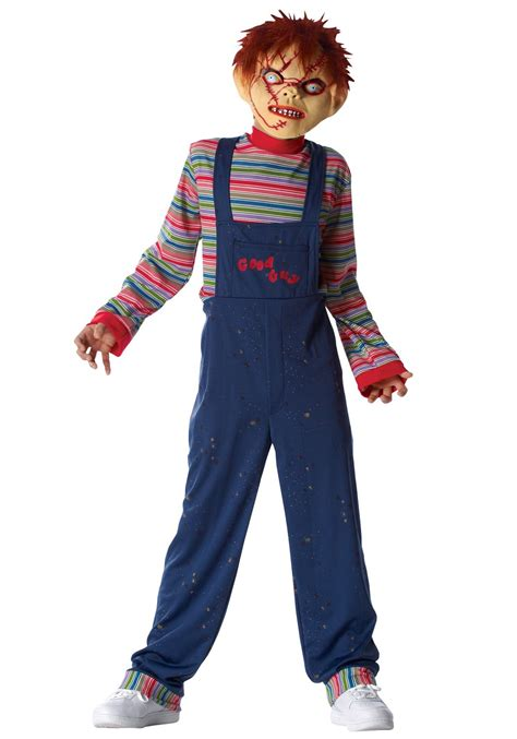 Scary Costumes For Kids Kids Chucky Costume