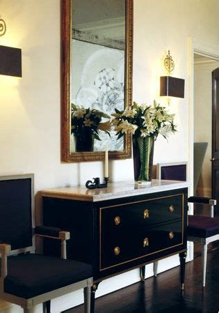 Accent Chairs For Foyer Gorgeous Black Wood Marble Top Chest With Gold Accents
