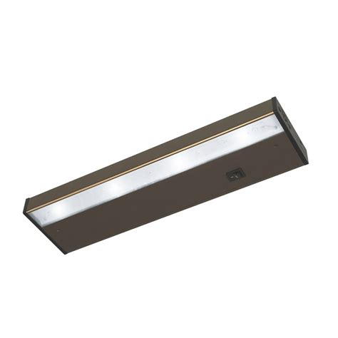 Cabinet Led Light Bar Shop Ecolight Designer 14 In In Cabinet Led