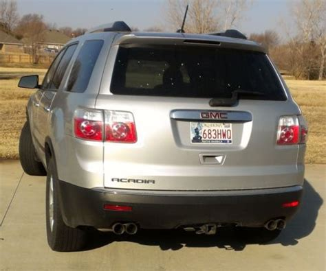 how make cars 2011 gmc acadia seat position control buy used 2011 gmc acadia sl bench seats towing reciever no reserve clean title nr 11 gm in yukon