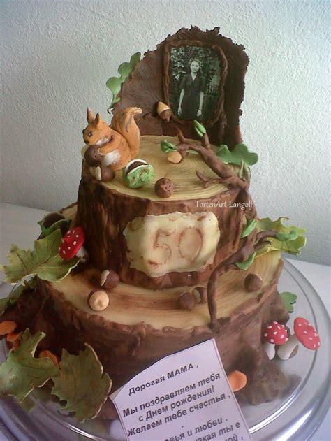 Hochzeitstorte Wald by Wald Im Herbst Motivtorte Meine Torten
