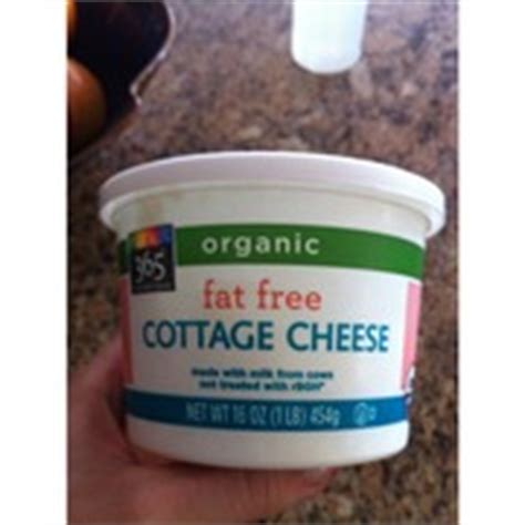 Organic Cottage Cheese Nutrition by 365 Everyday Value Organic Free Cottage Cheese
