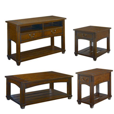 Hammary Tacoma 4 Piece Rectangular Coffee Table Set   BEYOND Stores