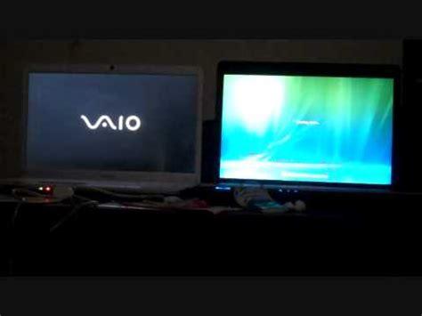 restart test between toshiba and sony viao laptop computer