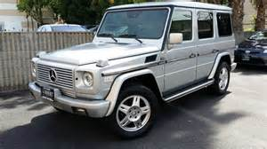 2002 mercedes g class silver 200 interior and