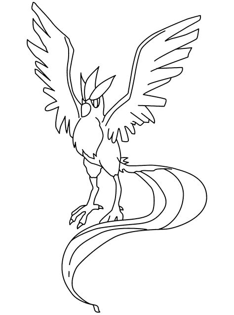 pokemon coloring pages fletchling coloring page pokemon coloring pages 4