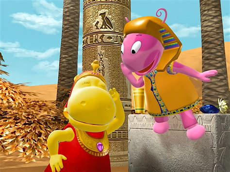 Backyardigans Key To The Nile Song And Thank You The Backyardigans Wiki Fandom