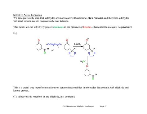 Bond Mba Tuition by Aldehydes Ketones Notes