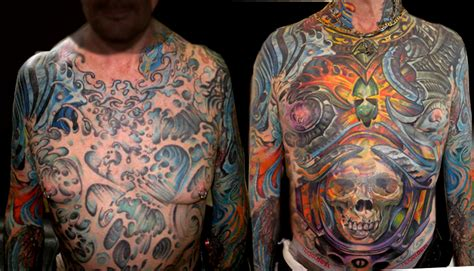 3rd dimension tattoo cover up in prog by brian murphy tattoonow
