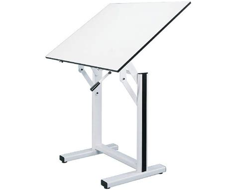 Alvin Ensign White Base Drafting Table En42 4 Tiger Supplies White Drafting Table