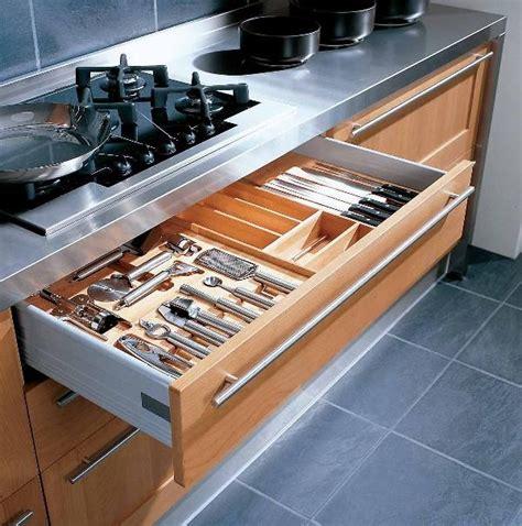 porta posate da cassetto porta posate cucina vasche contenitive plastica legno