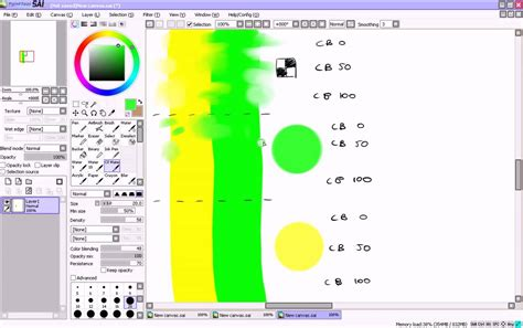 paint tool sai water brush paint tool sai ol water brush tutorial