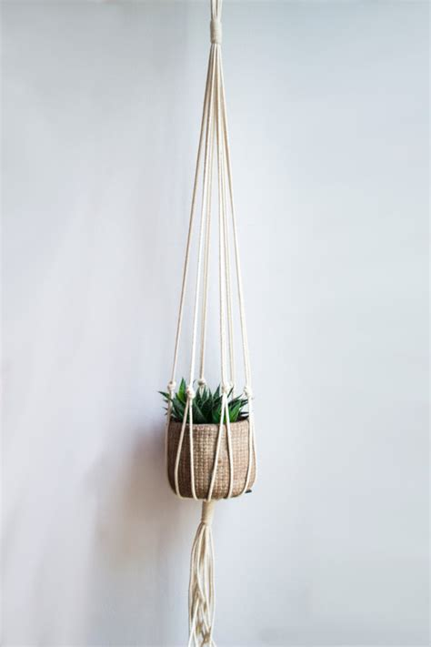 Macram Plant Hangers - macrame plant hanger 40 inch 1 8 inch braided by