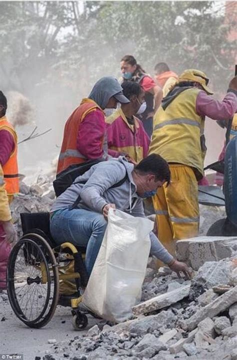 Hefinds Friday Clean Up by Moving Photos Of Wheelchair Bound In Mexico Clean Up