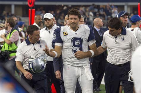 tony romo thanksgiving record source cowboys tony romo is done for the season