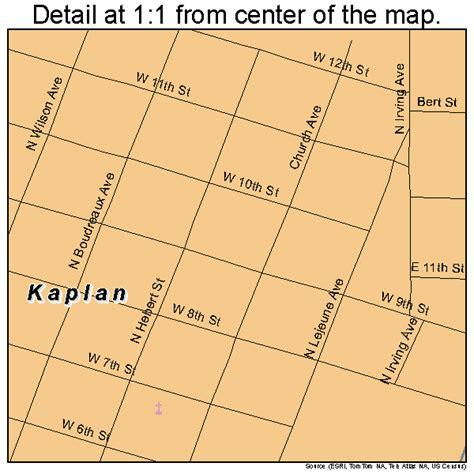 kaplan louisiana map kaplan louisiana map 2239055