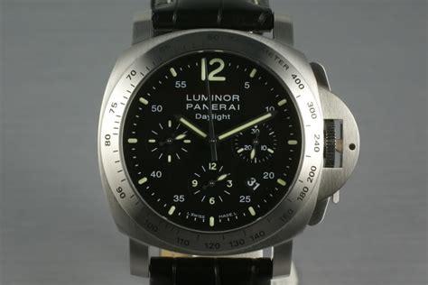 Panerai Daylight 3chrono Black hq milton panerai luminor daylight chronograph pam 250 inventory 720