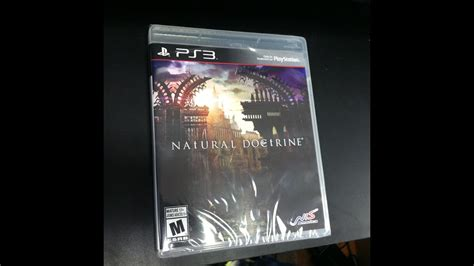 Ps3 Doctrine doctrine ps3 unboxing