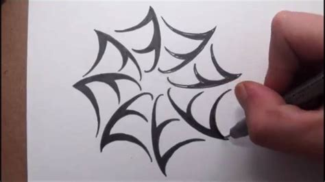 spider tribal tattoo tribal spider web