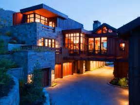 mountain modern mountain pinterest modern mountain villa in montana