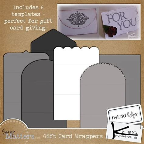 free gift card holder template 1000 images about pazzles project inspiration on