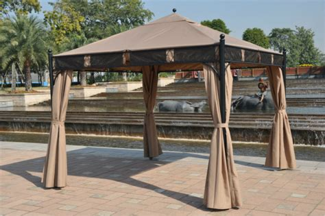 Pavilion Patio Furniture by 3 3 Meter High Quality Outdoor Gazebo Tent Patio Shade