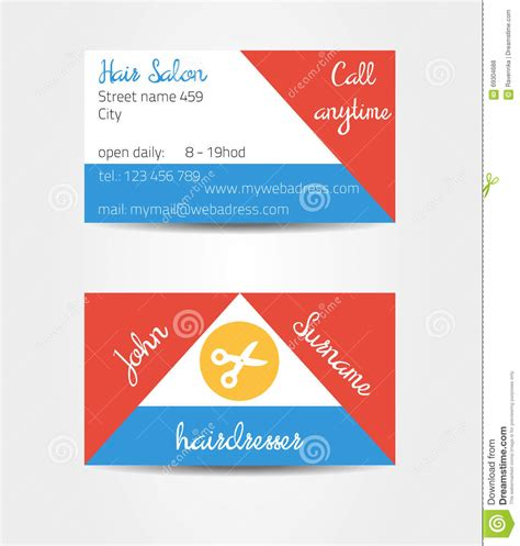 template 2 sided card two sided eccentric and extraordinary business cards