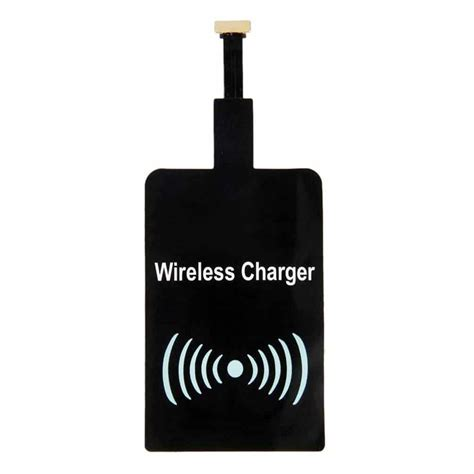 Jual Qi Wireless Charger Accept Receiver Universal Microusb brilite universal qi wireless charging receiver for android mobile phones for ebay