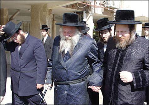 hasidic jews ultra orthodox jews and rabbi schneerson