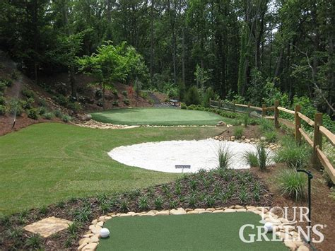 golf putting greens for backyard 18 best backyard putting greens images on pinterest