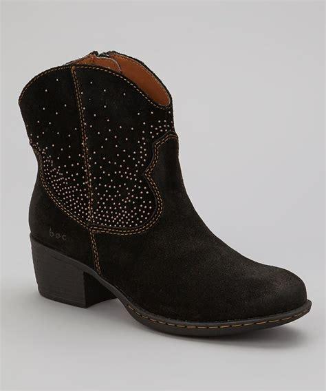 black suede cowboy boot cool clothes