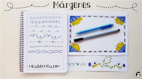 decorar hojas en word margenes para hojas de cuaderno imagui