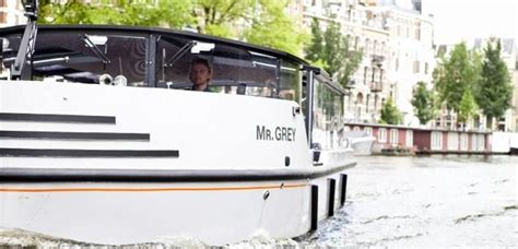 speedboot huren amsterdam motorboot mr grey boot huren