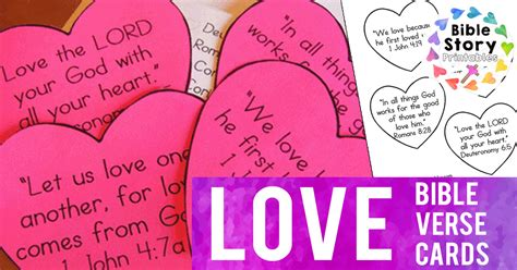 love themes in the bible love bible verses for children