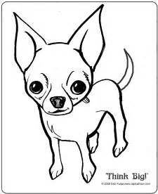 chihuahua coloring pages for az coloring pages