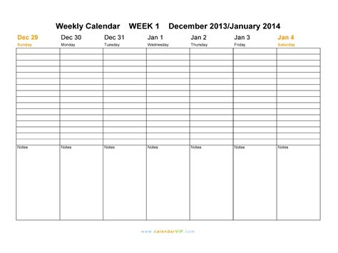 daily planner template word 2014 weekly calendar template 2014 playbestonlinegames