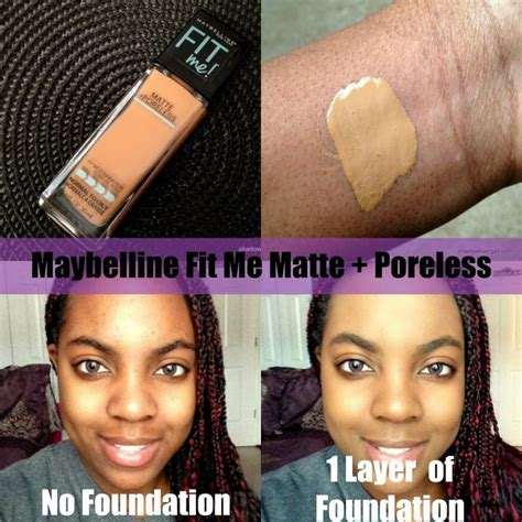 Maybelline Fit Me Foundation Review Indonesia 15 best images about fitme foundation on tom