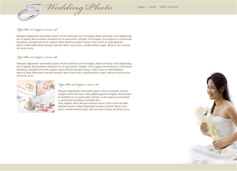 18 Free Lovely Wedding Website Templates Designfreebies Marriage Website Templates Free