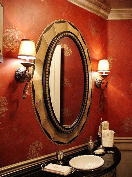 red bathroom mirror 93 best images about stencil stars great customer