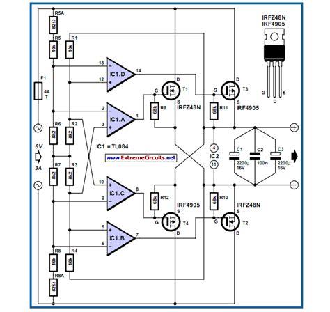 rectifier diode wiring diagram power mosfet bridge rectifier eeweb community