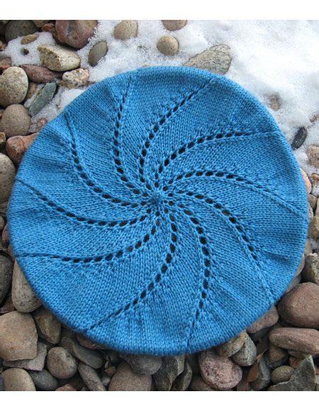 knitting pattern beret whirlpool beret pattern knitting patterns and crochet