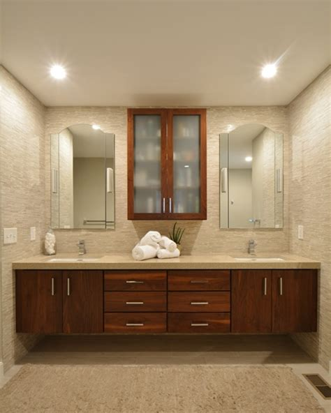 Double Sink Bathroom Decorating Ideas floating cabinets why a floating vanity may be right for