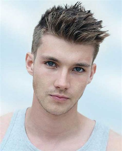 Spiky Hairstyles For Guys 25 spiky haircuts for guys mens hairstyles 2018
