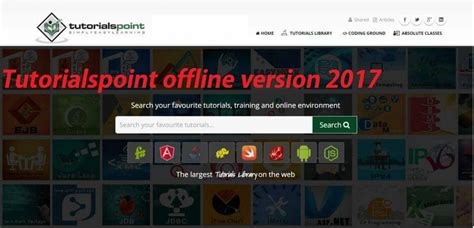 Tutorialspoint Offline | tutorialspoint offline version 2017 free download pdf