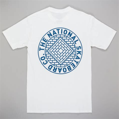 T Shirt Skateboarding Union White by National Skateboard Co Union T Shirt White At Skate Pharm
